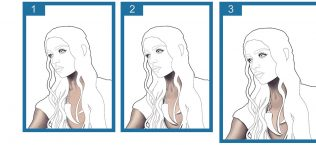 Drawing Process - Khaleesi - Banner