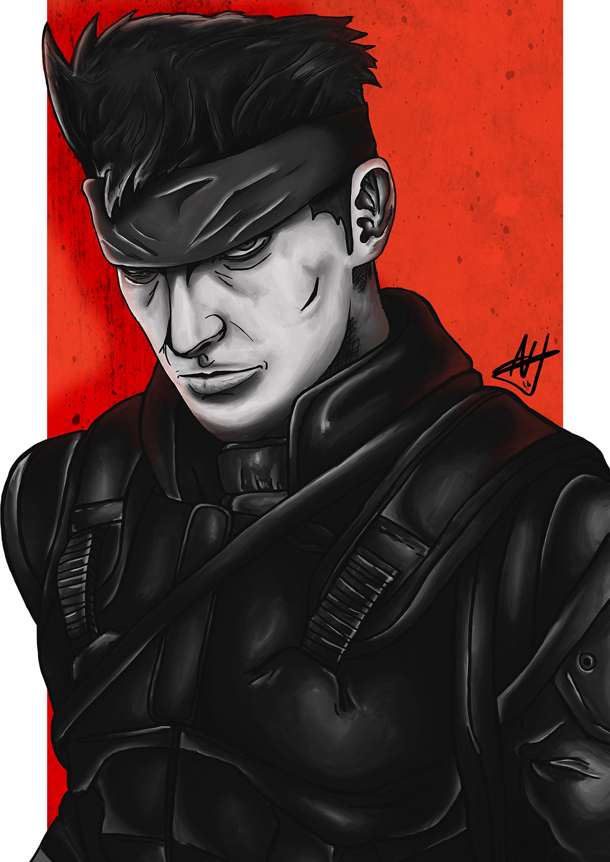 Adam Holmes - Solid Snake
